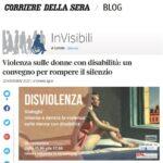 Invisibili Corriere della Sera - 25/11/20